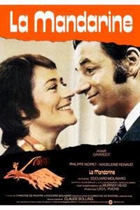 "Affiche pour ""La Mandarine"" (1971) d'Edouad Molinaro."