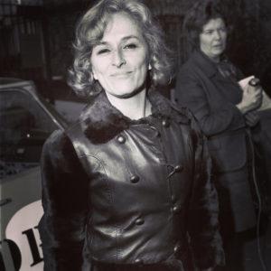 Christine de Rivoyre rayonnante après l'annonce du prix Interallié.