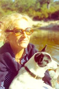 Christine de Rivoyre dans les années 80.