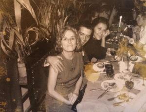 Christine de Rivoyre, Alexandre Kalda et Edmonde Charles-Roux à la fin des années 60.